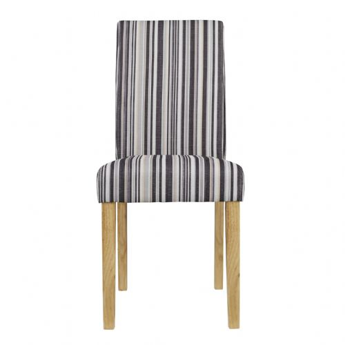 AXECH155 Striped Chairs(Pack of 2)